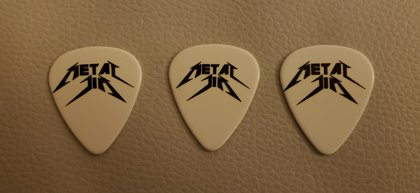 Metal Jim standard guitar picks